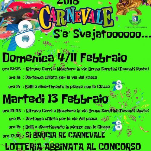 Logo Carnevale a Vasanello
