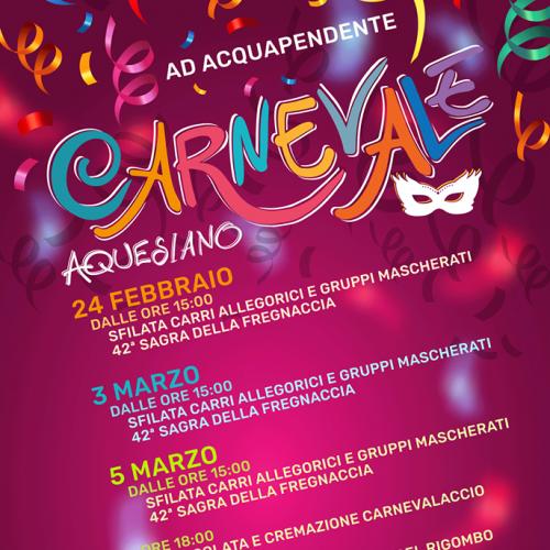Logo 'Carnevale Aquesiano'  Acquapendente