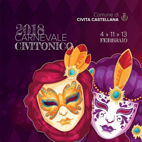 Logo Carnevale Civitonico 2018