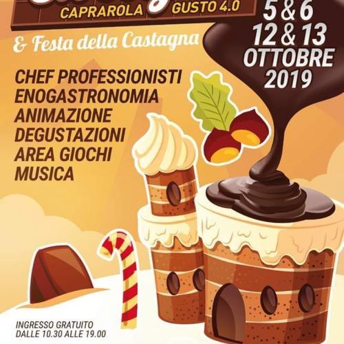 Logo 'Cioccofest  2019' Caprarola