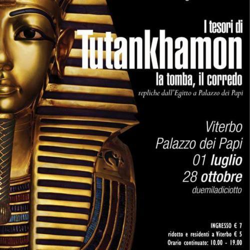 Logo L'Egitto a Viterbo 'Itesori di Tutankhamon'