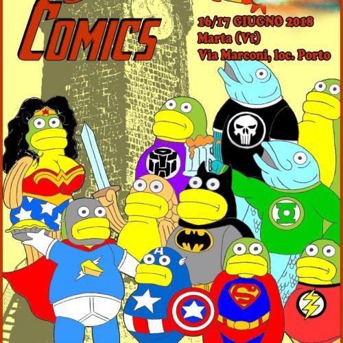 Logo Marta Comics
