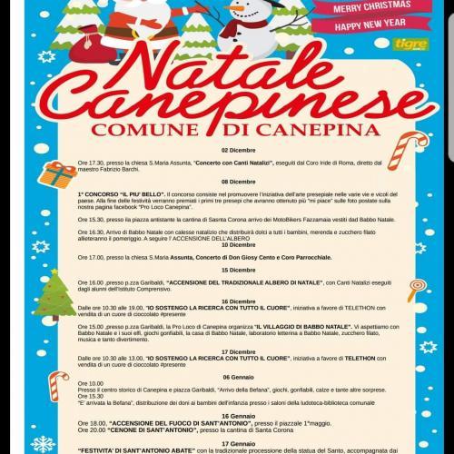 Logo Natale Canepinese