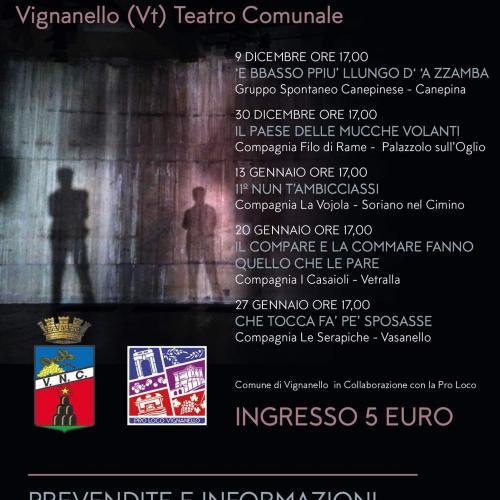 Logo 'Rassegna di teatro dialettale' Vignanello