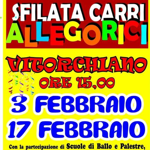 Logo 'Sfilata carri allegorici' Vitorchiano