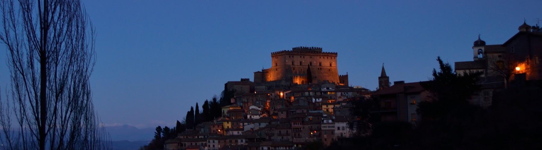 Copertina Castello Orsini di Soriano nel Cimino