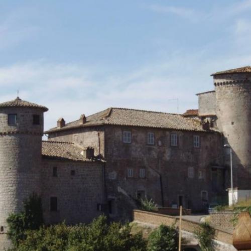 Logo Castello degli Anguillara Canepina Attrazioni