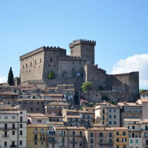 Logo Castello Orsini di Soriano nel Cimino Attrazioni