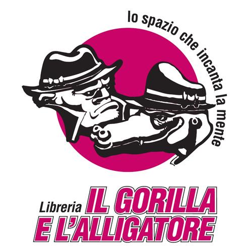 Logo Libreria il Gorilla e l'Alligatore Shopping
