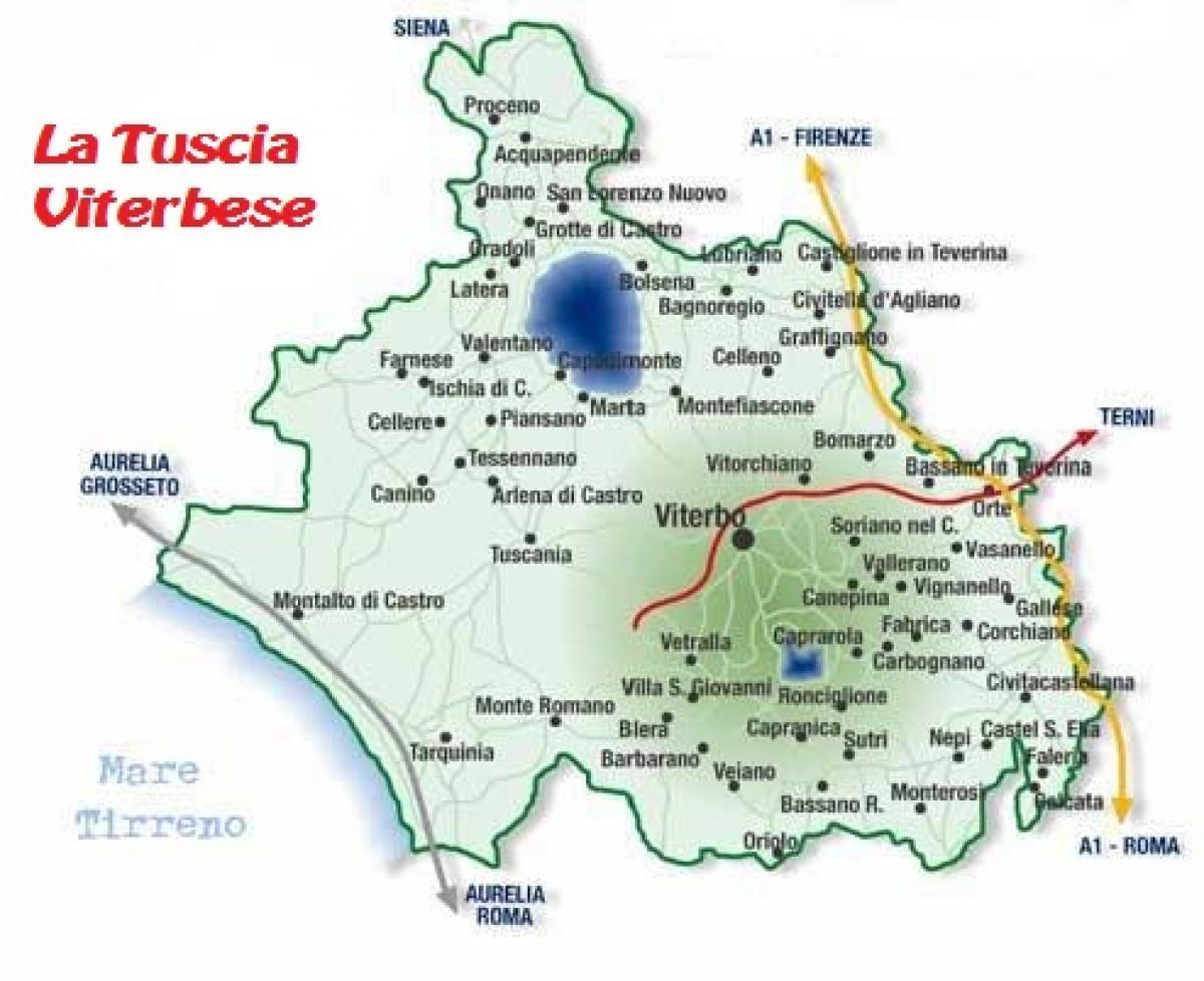 Foto La Tuscia