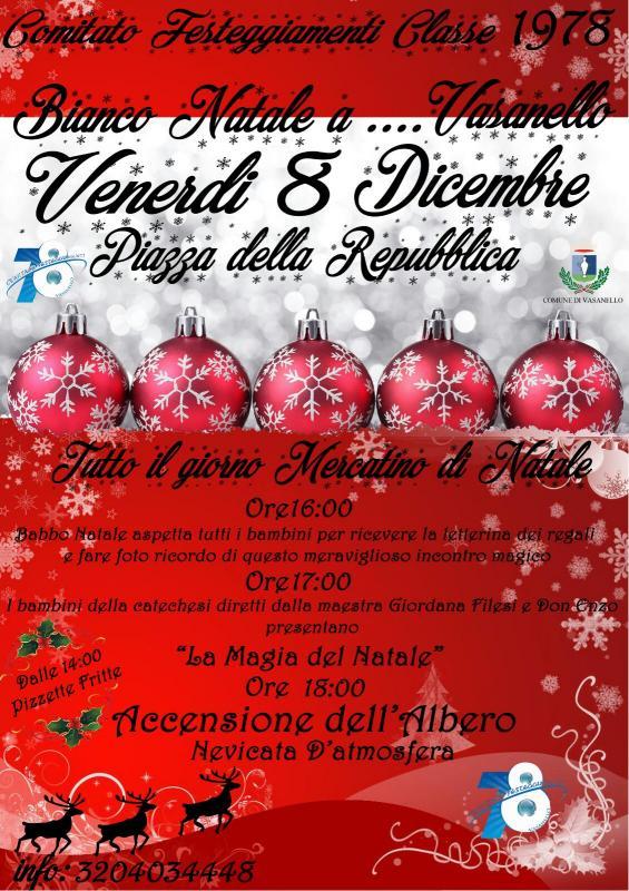 Foto Bianco Natale  a  Vasanello