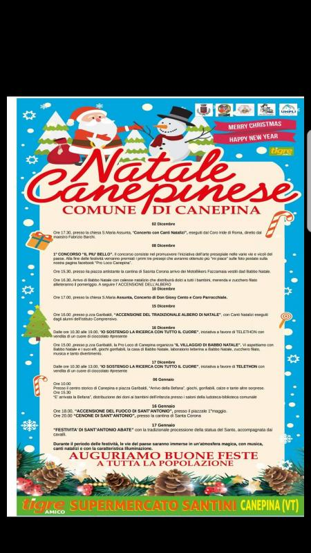 Foto Natale Canepinese