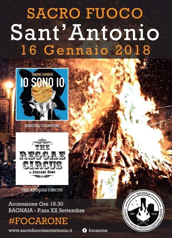 Foto 'Sacro Fuoco di Sant'Antonio' a Bagnaia