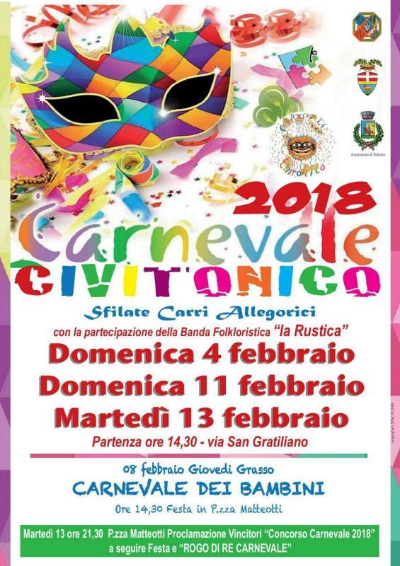 Foto Carnevale Civitonico 2018