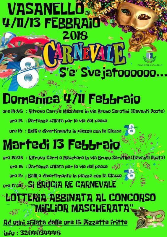 Foto Carnevale a Vasanello