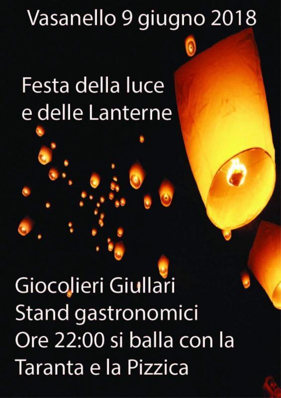 Foto 'Festa della luce e delle lanterne'. VASANELLO