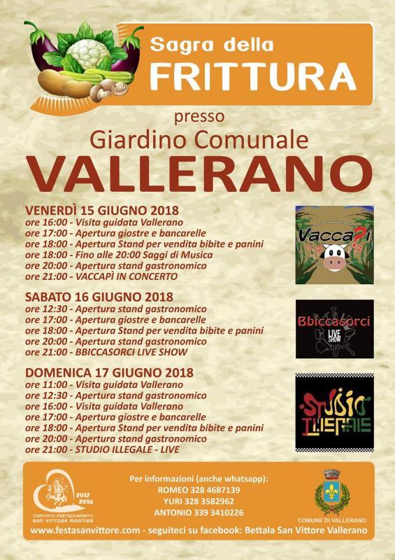 Foto Sagra della frittura 'Vallerano'