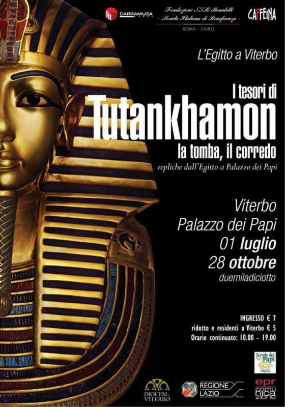 Foto L'Egitto a Viterbo 'Itesori di Tutankhamon'