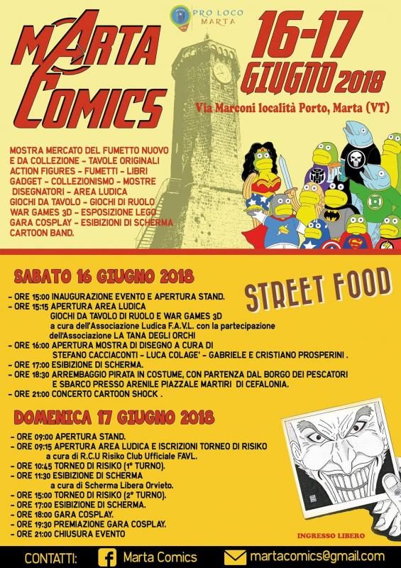 Foto Marta Comics