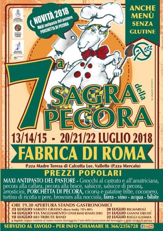 Foto 7A Sagra della Pecora. Fabrica di Roma