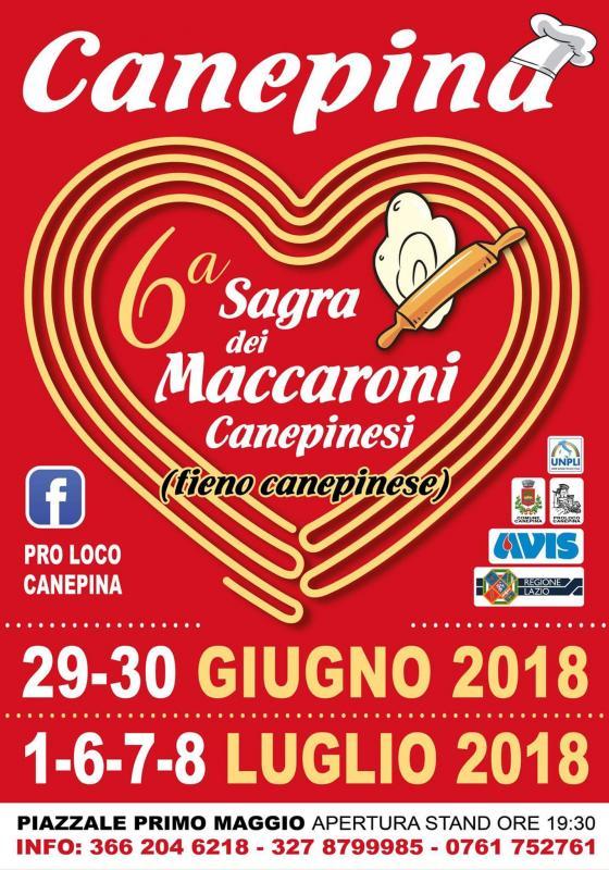 Foto 6A Sagra dei Maccheroni Canepinesi