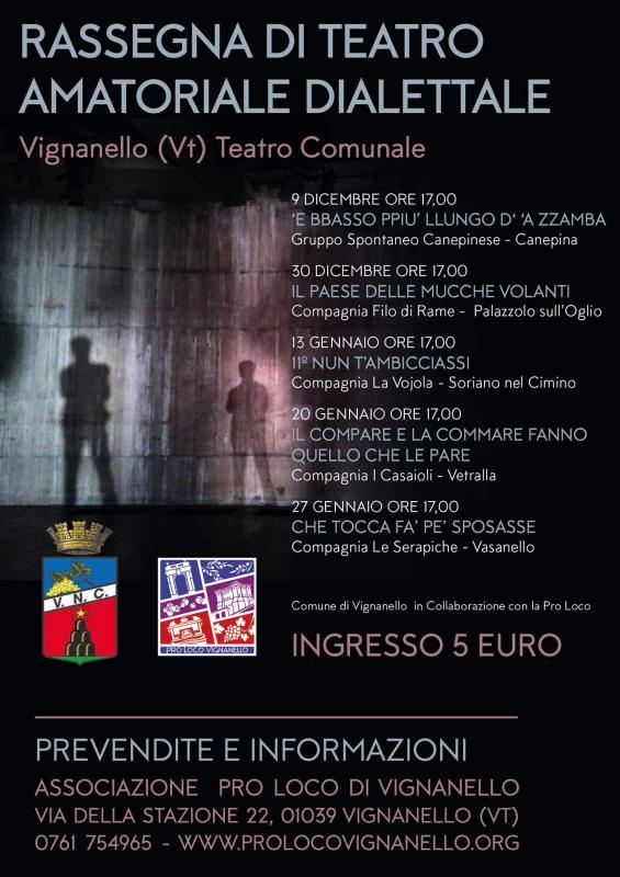 Foto 'Rassegna di teatro dialettale' Vignanello