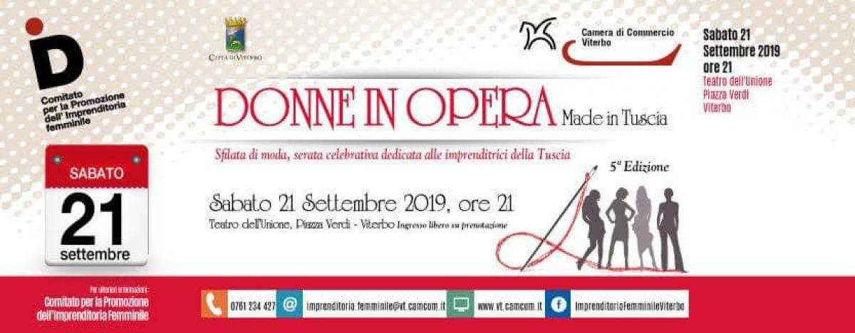 Foto DONNE IN OPERA   Made in Tuscia