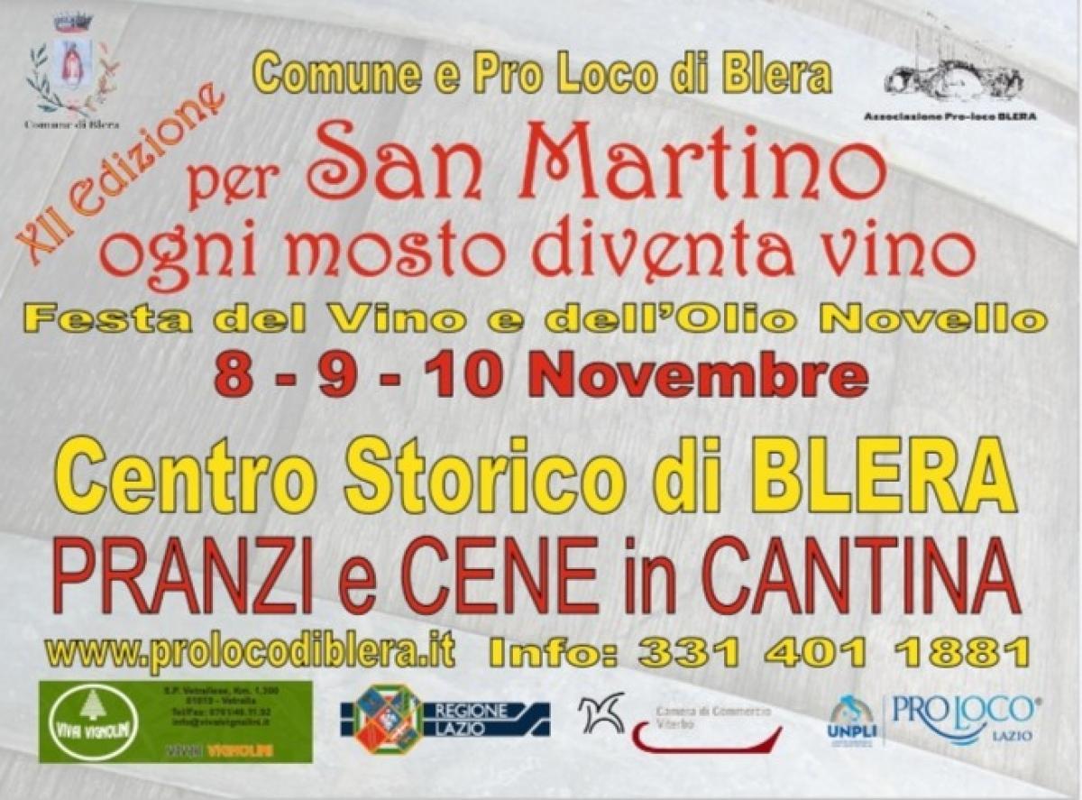 Foto ' A San Martino ogni Mosto diventa Vino'   Blera
