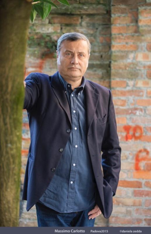 Foto Massimo Carlotto a Orte presenta La signora del martedì