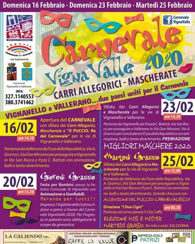 Foto Carnevale Vigna Valle 2020