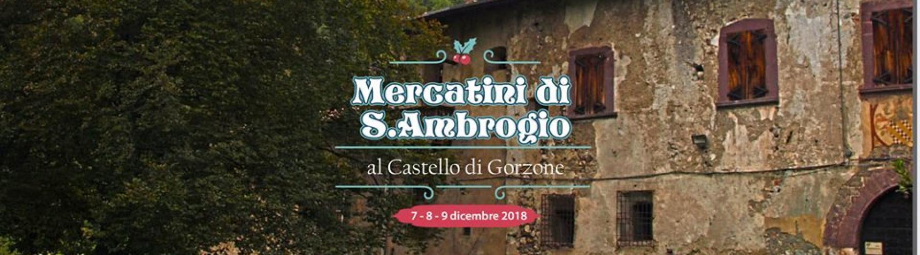 Copertina evento Mercatini di Sant'Ambrogio al Castello di Gorzone