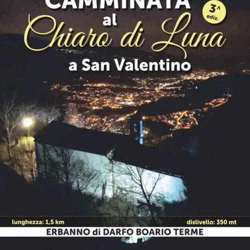 Logo Memorial Salvetti e III Camminata Notturna a San Valentino