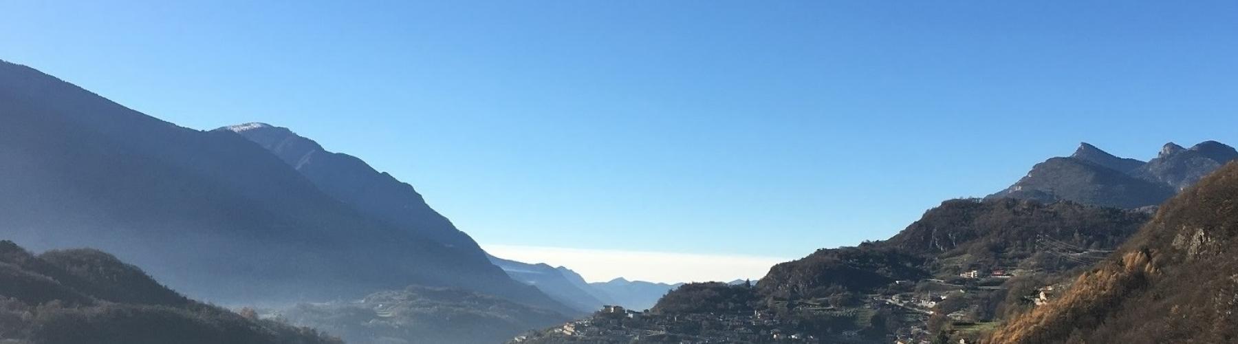 Copertina Cammino dell'Antica Via Valeriana in Valle Camonica