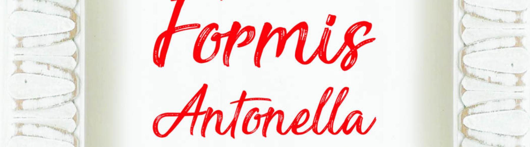 Copertina FORMIS ANTONELLA Panificio e Pasticceria