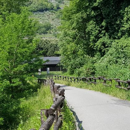 Foto Pista ciclabile Valle Camonica