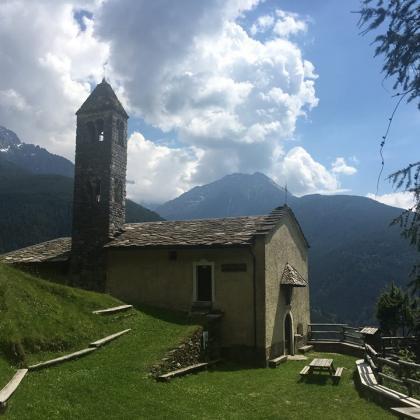Foto Cammino di Carlo Magno in Valle Camonica