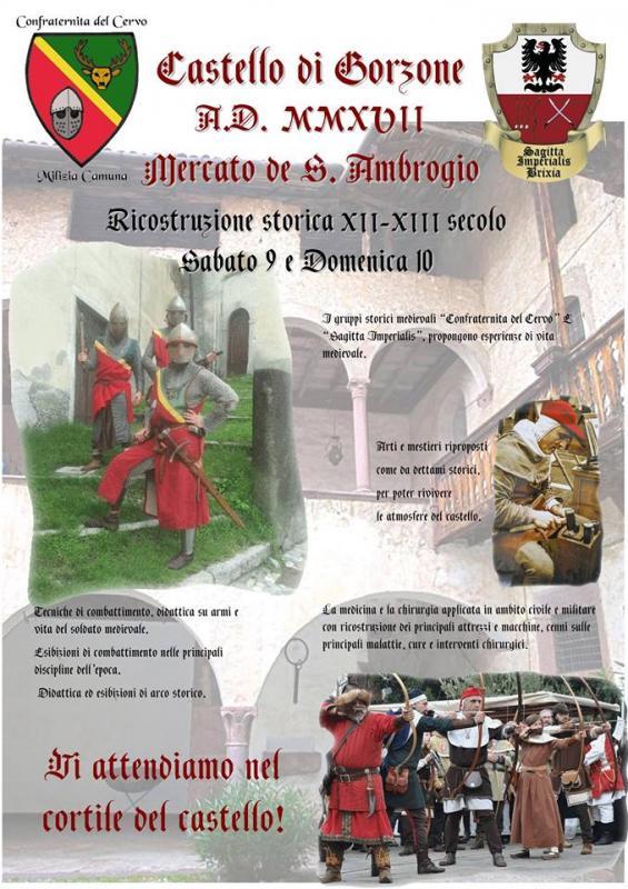 Foto Mercatini di Sant'Ambrogio al Castello di Gorzone
