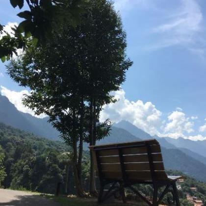 Foto La Panchina Gigante a Paspardo