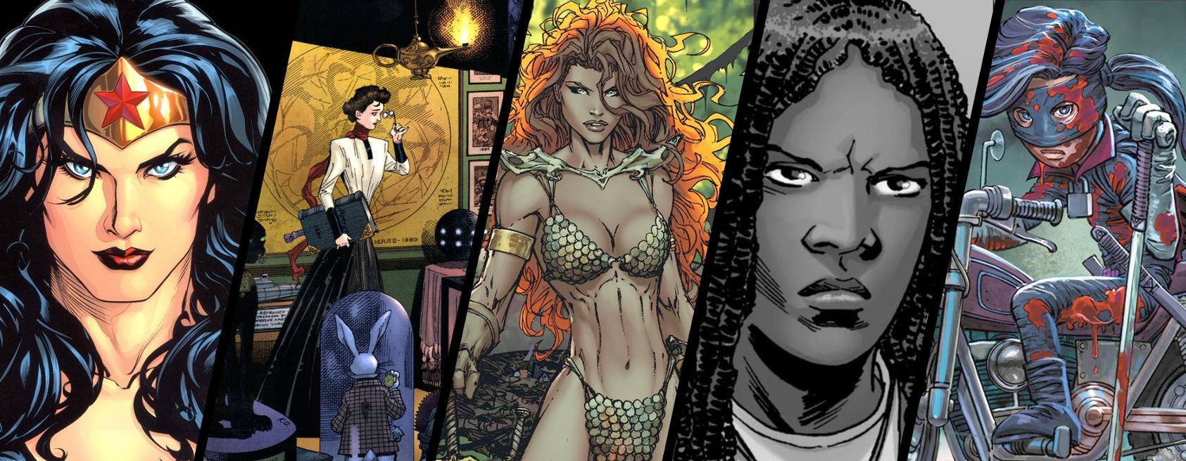 Heroïnes de Còmic