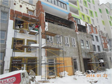 ход строительства ЖК Акварели