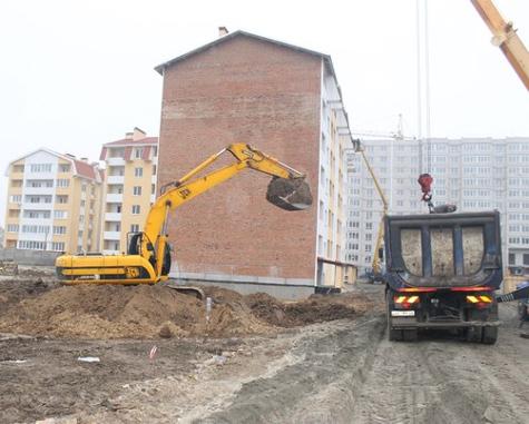 Строительство ЖК Кивский квартал