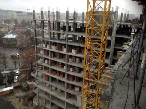 Хід будівництва ЖК Парус Львів за листопад 2015  27805f7815181