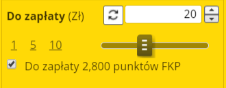 Fortuna - bonus bez depozytu 2800 punktów
