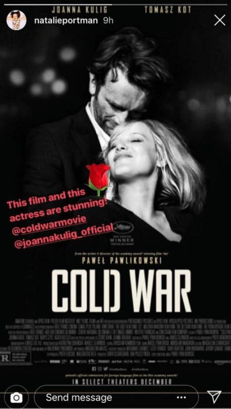 Zimna wojna - Instagram