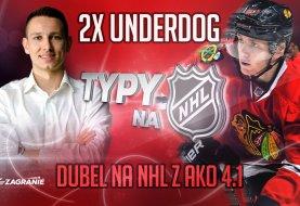 Dwa typy na underdogów na środową noc z NHL!