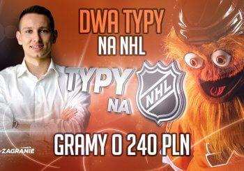 Dwa typy na wtorkową noc z NHL!