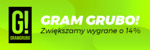 Promocja Gram Grubo w Totolotku