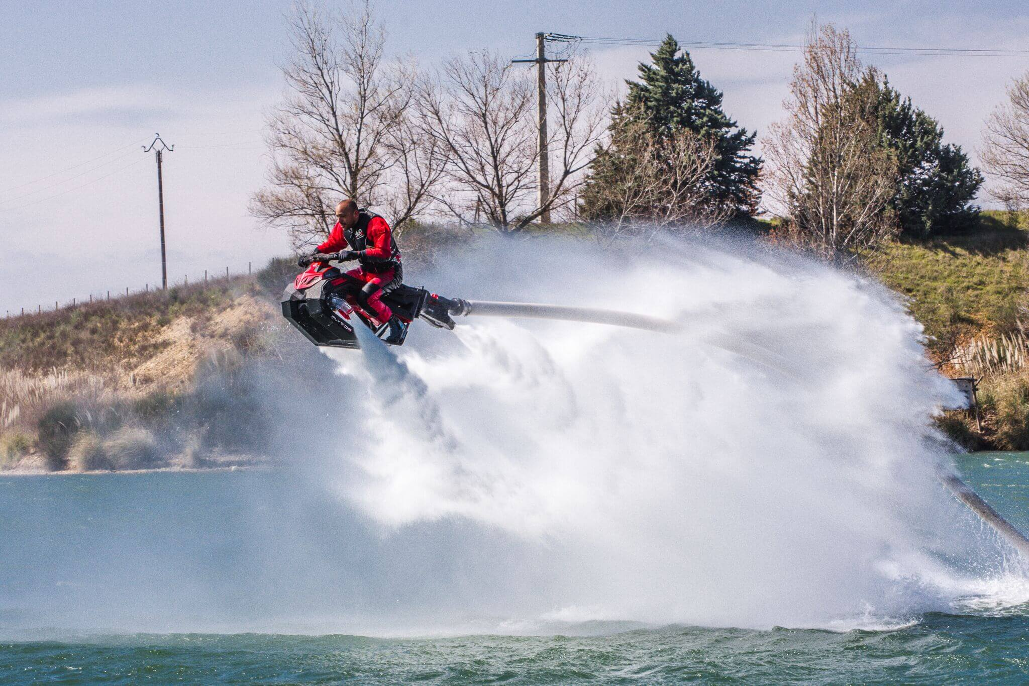 Flyride - latający skuter wodny