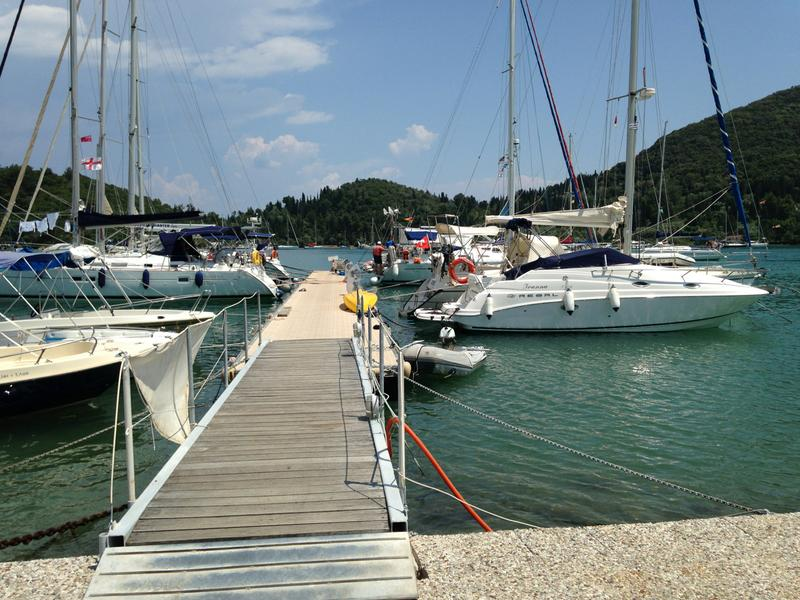 Skorpios Charter jetty - mySea