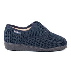 Zapato Cómodo Calado Cordones